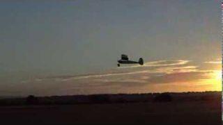 Vintage model flying at Salisbury.